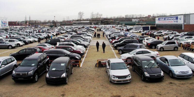Где продают много б у машин — площадки авторынков в Москве