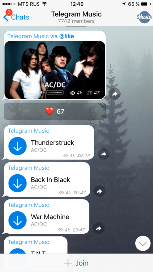 Telegram Music