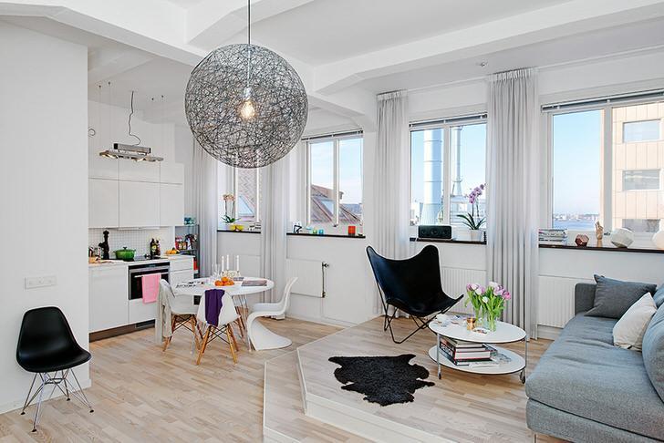 Дизайн комнаты-студии: советы и рекомендации