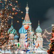 новый год 2018 в Москве