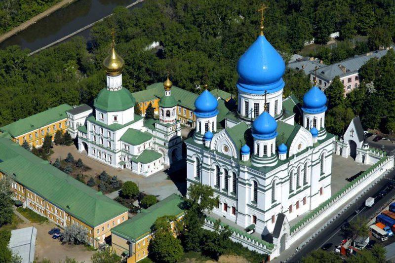 Монастыри Москвы мужские и женские с адресами и фото