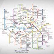 Карта Московского метро