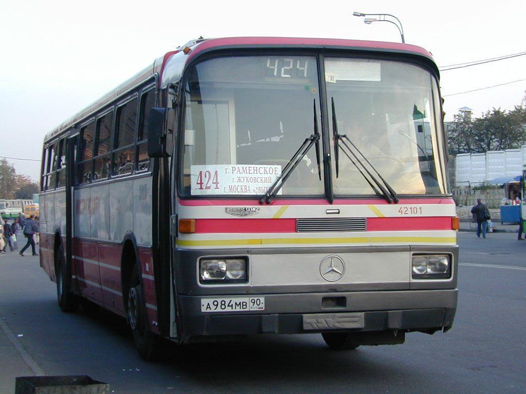 Автобус до Раменского