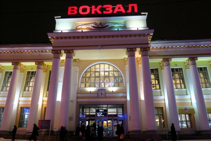Здание вокзала в Екатеринбурге