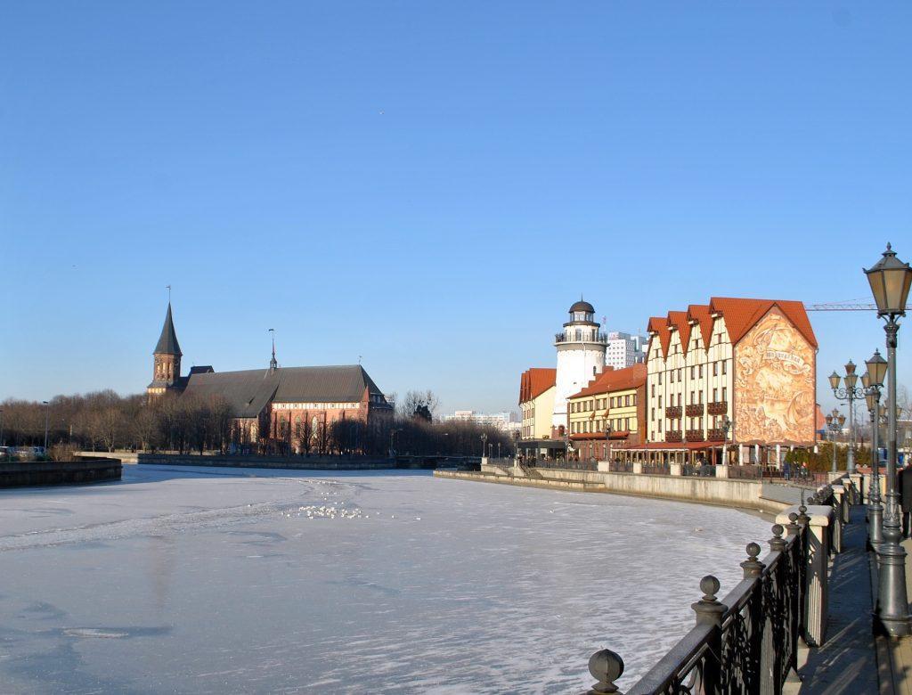 Комплекс «Рыбная деревня» и Кафедральный собор