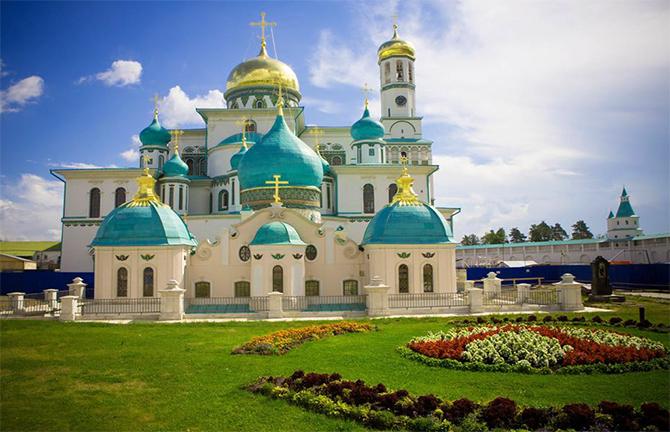 Воскресенский Новоиерусалимский монастырь в г. Истра