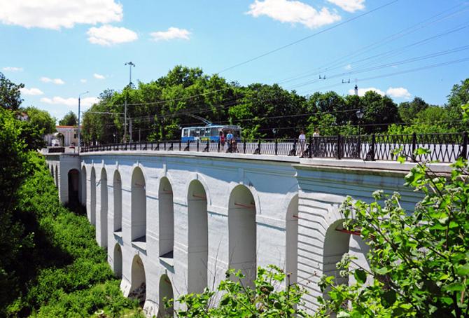 Большой Каменный мост в Калуге