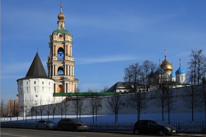 Новоспасский монастырь сейчас
