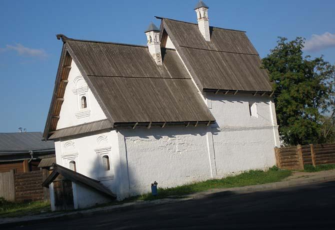 Посадский дом в Суздали