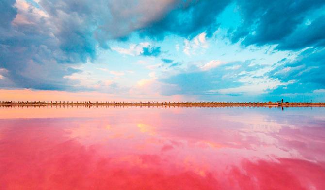 Озеро в Крыму Сасык
