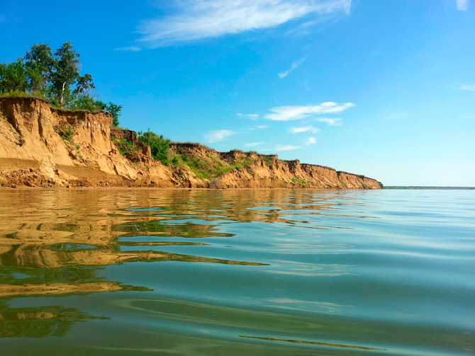 Яровое озеро на Алтае