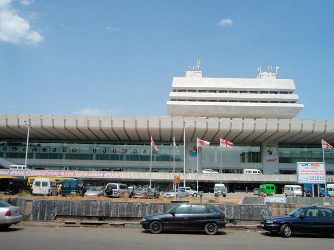 ЖД вокзал в Тбилиси