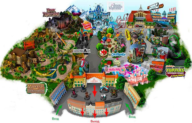 Карта Острова мечты