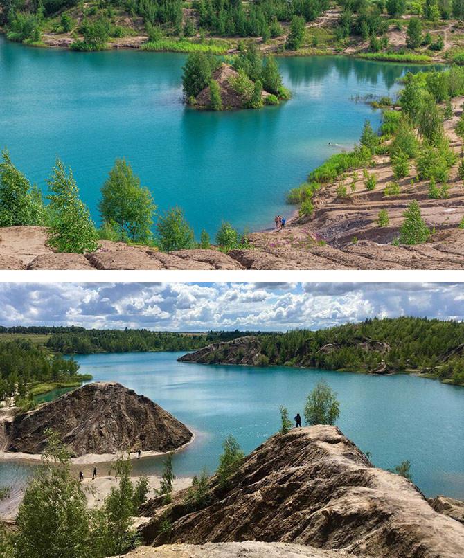 Голубые озера в Кондуки