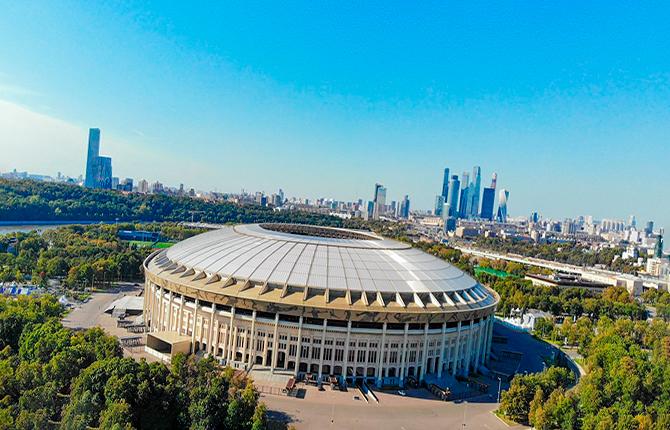 Стадион в Лужниках